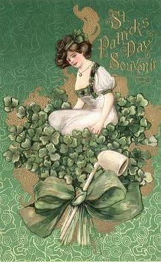 430 Best Vintage St. Patrick\'s Day images.
