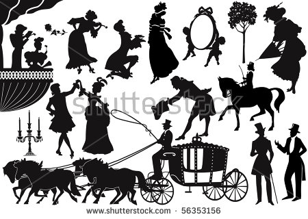 Victorian People Stock Images, Royalty.