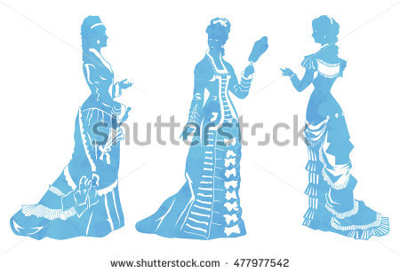 Victorian Woman Stock Images, Royalty.