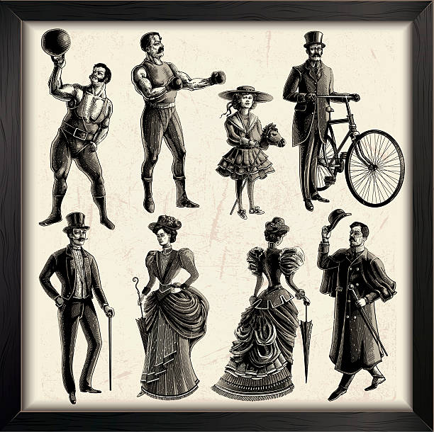 Victorian Style Clip Art, Vector Images & Illustrations.