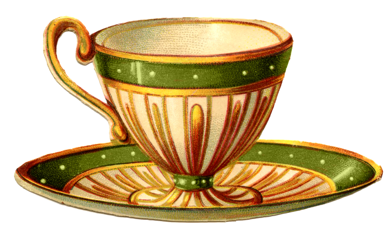 22 Pretty Teacups.