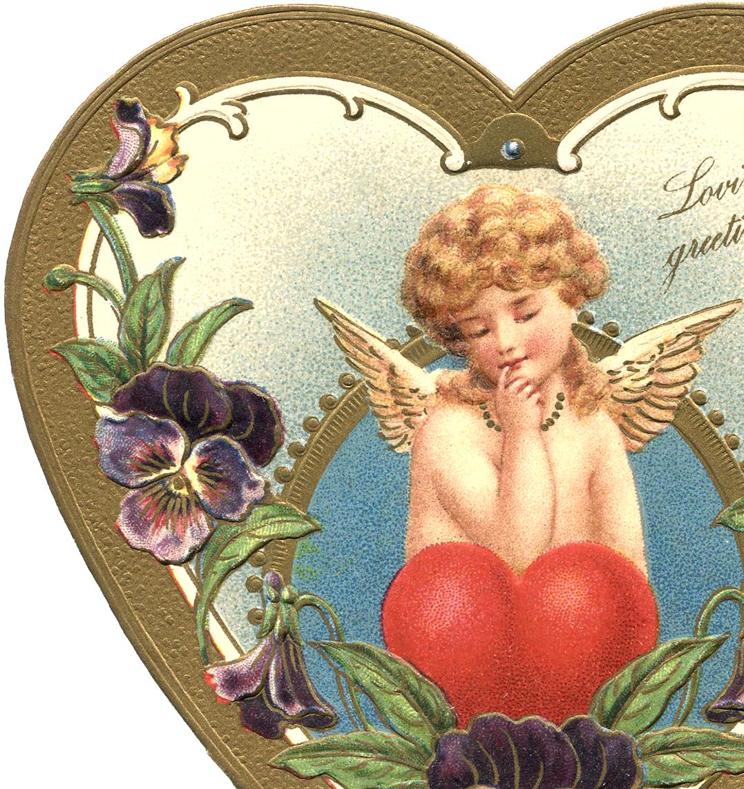 Victorian Valentine Image.