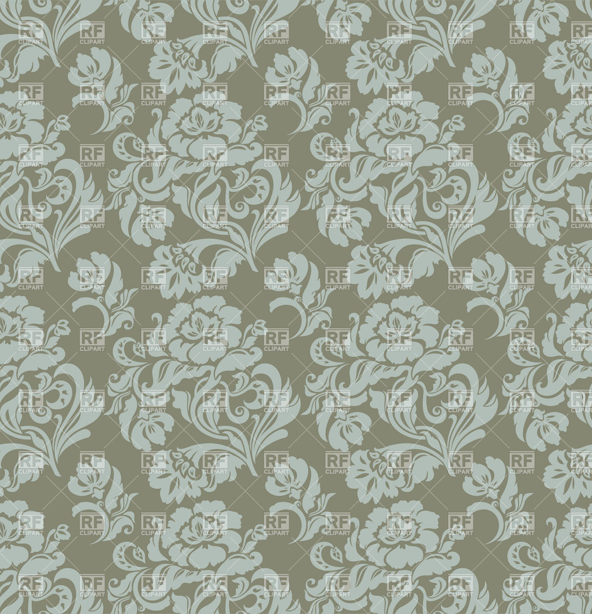 Free download Seamless gray floral victorian wallpaper.