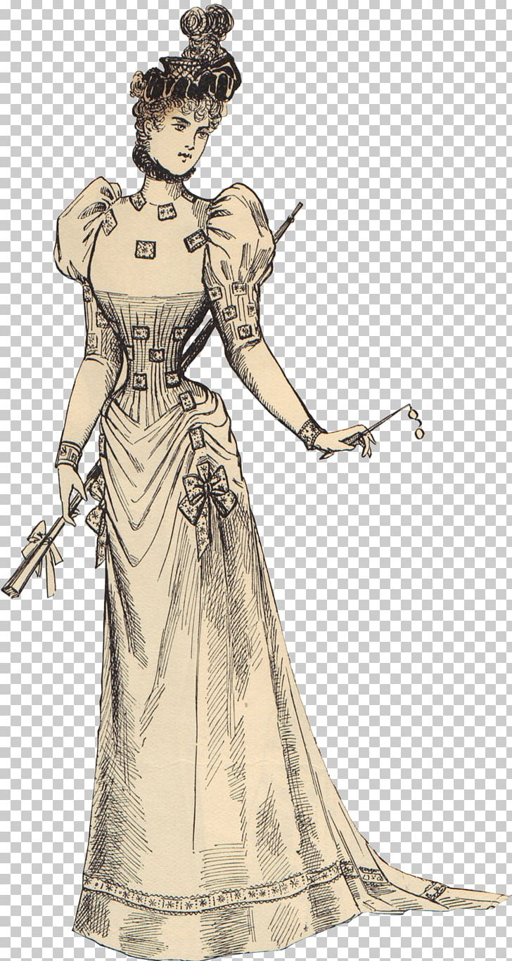 Victorian Vintage Woman PNG, Clipart, People, Women Free PNG.
