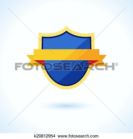 Clipart of symbol of victories, awards and protection k20812954.