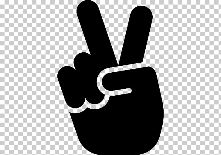 V sign Peace symbols Drawing , victory PNG clipart.