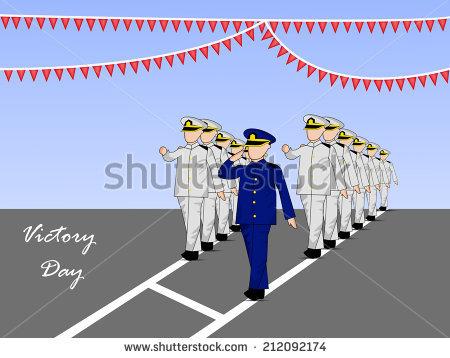 Victory Day Card Stock Vectors & Vector Clip Art.