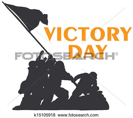 Clip Art of Victory Day k15105918.