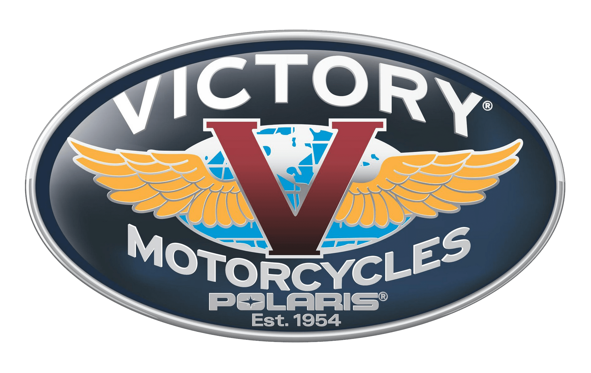 Victory motorcycle logo history and Meaning, bike emblem.