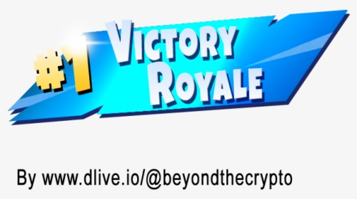 Clip Art 1 Victory Royale Transparent.