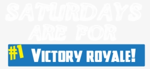 Fortnite Victory Royale PNG Images.