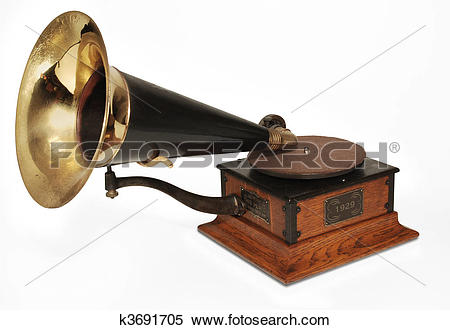Stock Image of victrola phonograph k3691705.