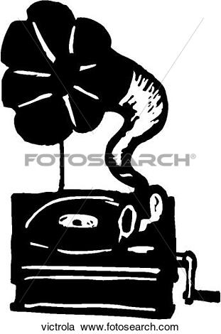 Gallery For > Victrola Clipart.