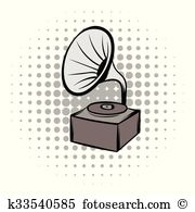 Victrola Clipart and Illustration. 9 victrola clip art vector EPS.