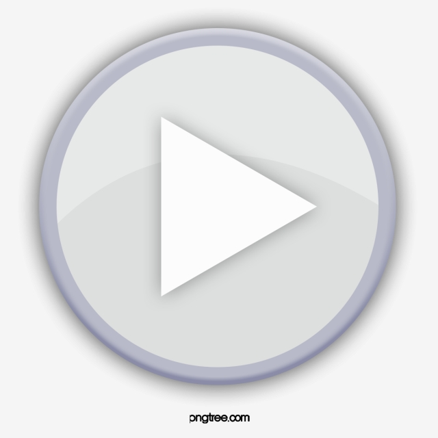 Play Button, Button Clipart, Gray, Video Player PNG.