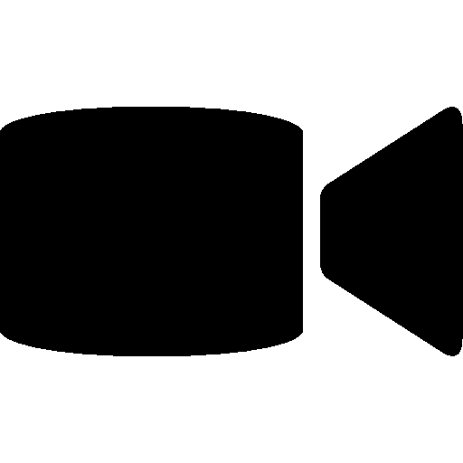 Mobile Video Call Icon.
