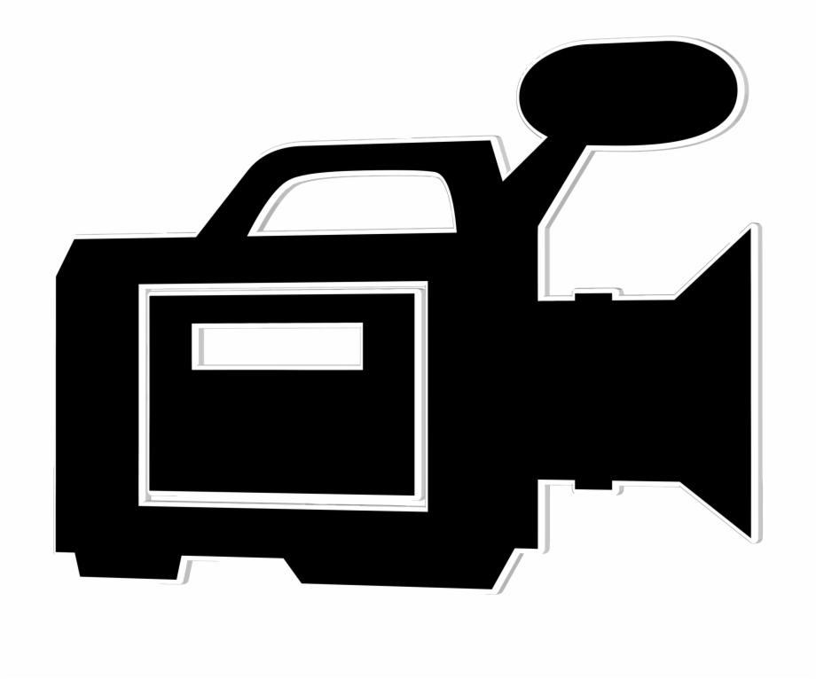 Excelent Clipart Video Camera Icon Silhouette Clipartbarn.