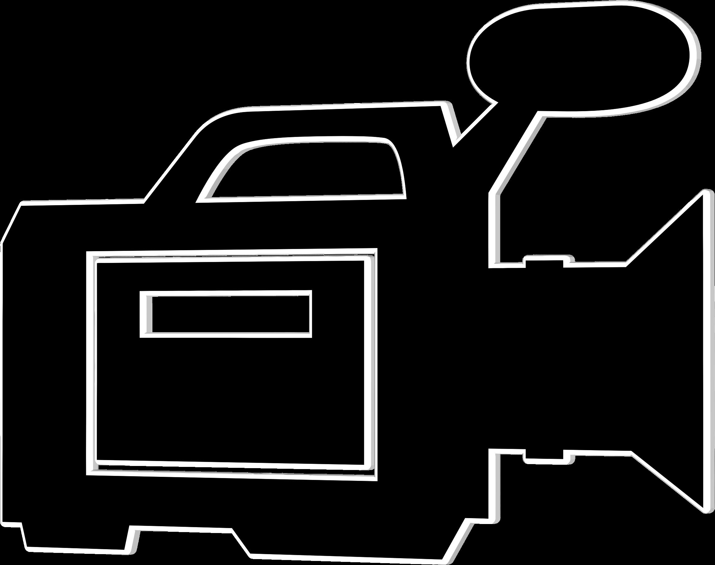 Clipart Video Camera Icon.