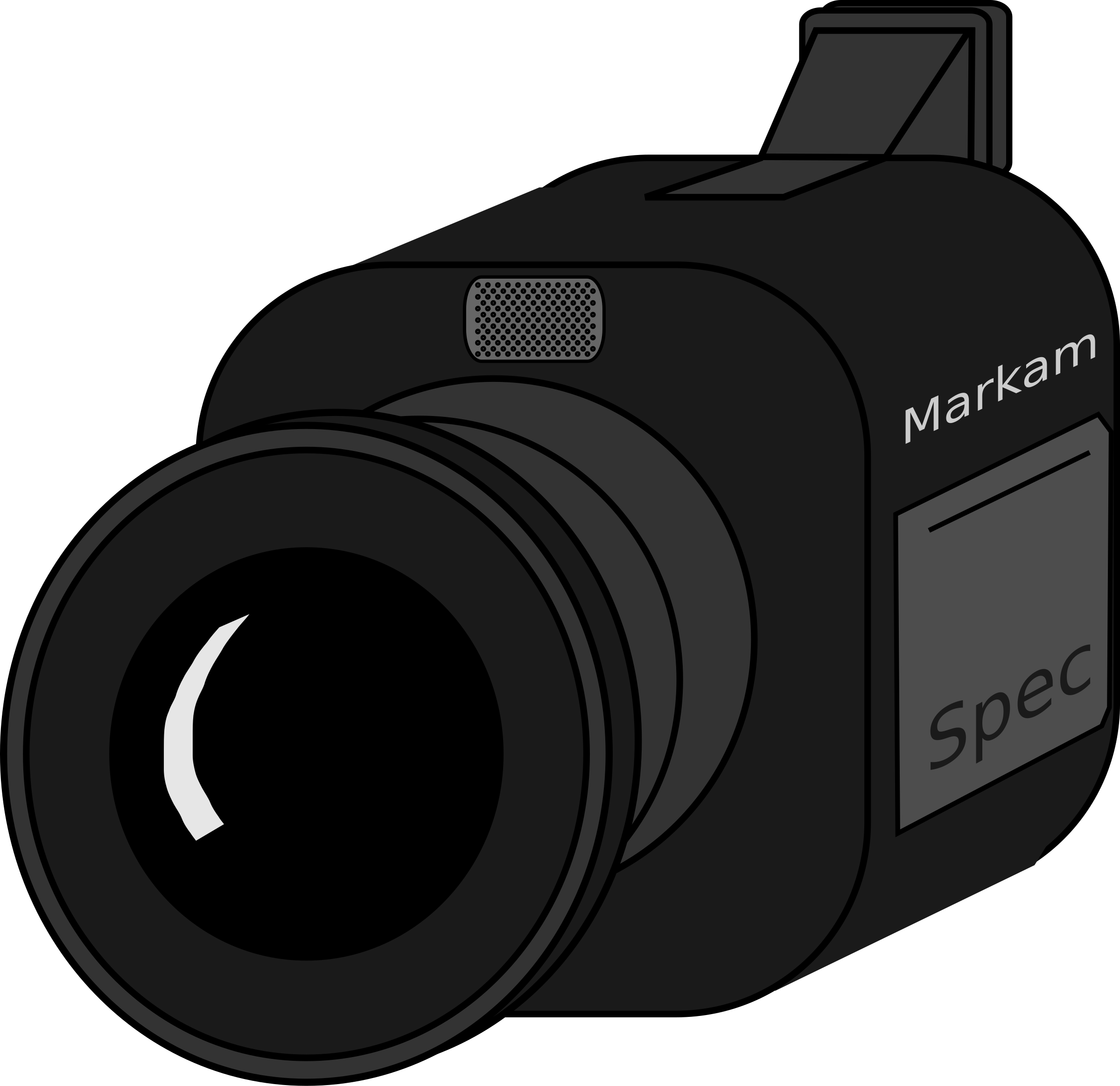 Video Camera Clipart Transparent.