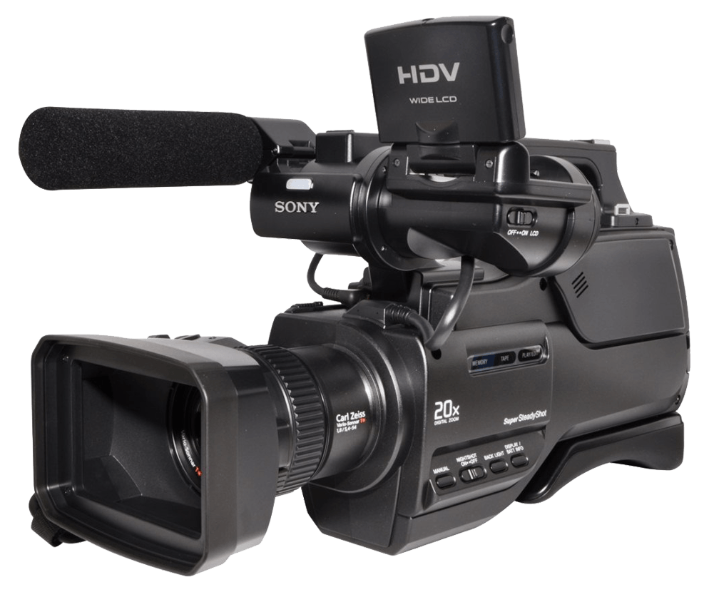 Hdv Sony Video Camera transparent PNG.