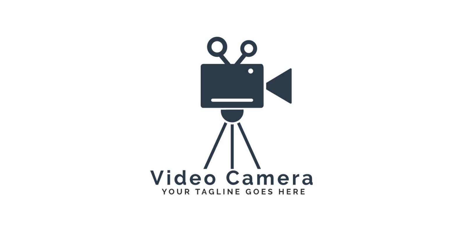 Video Camera Logo Design.
