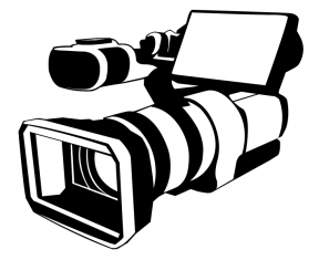 Broadcast Camera Clipart.