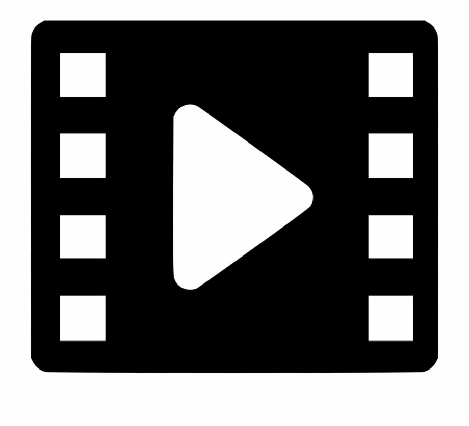 Image Royalty Free Movie Video Vdo Media Play Svg Png.