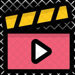Video clip Icon.