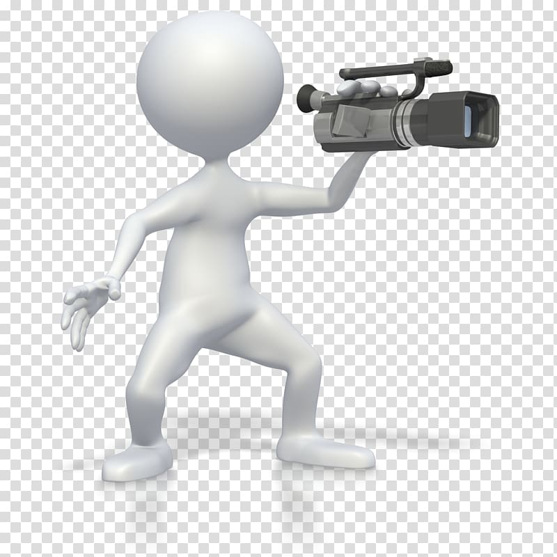 Video Cameras Animation , Animation transparent background.