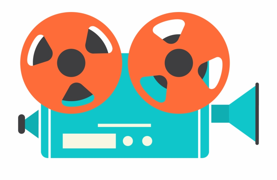 Video Camera Clipart Film Showing.