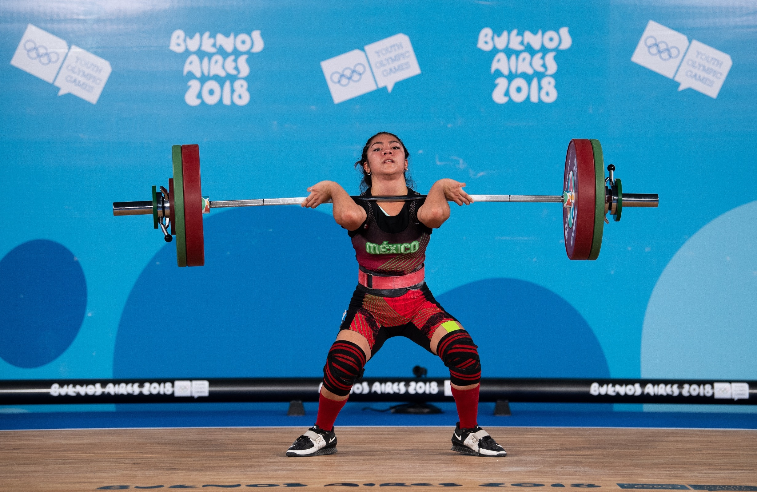 Weightlifting.