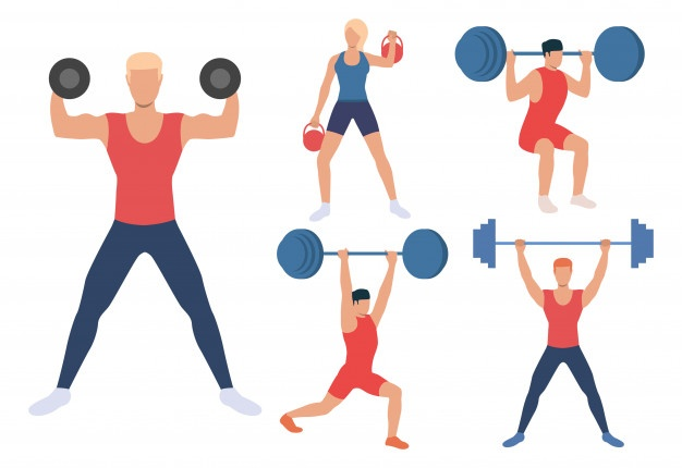 Weightlifting Vectors, Photos and PSD files.