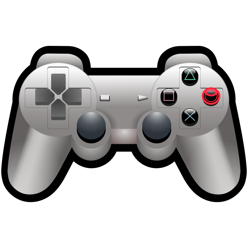 Video game control clipart.