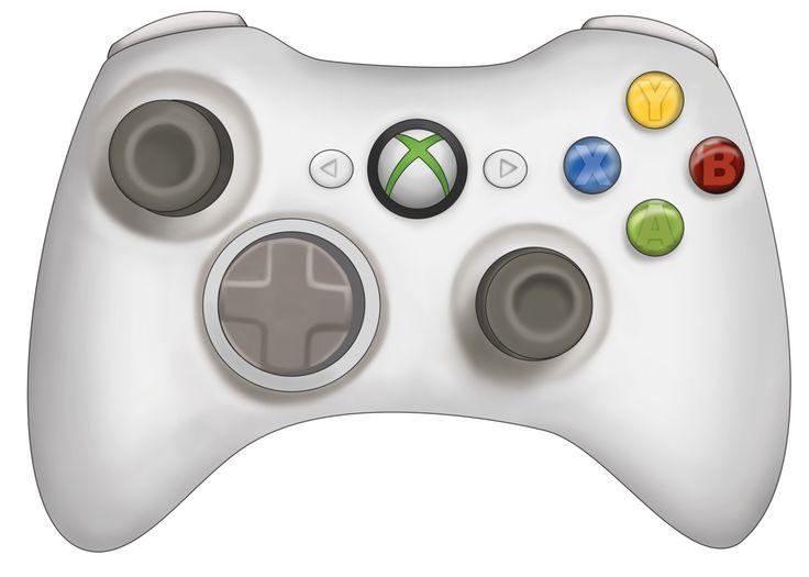 Game controller xbox clipart.
