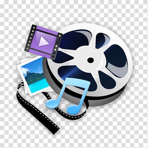 Video editing software IMovie, others transparent background.