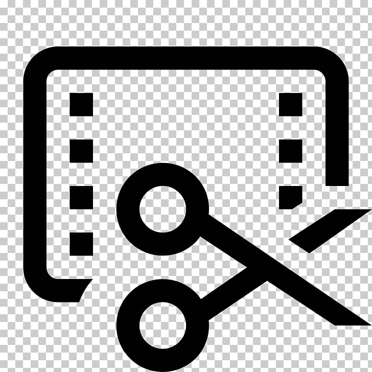 Video editing Symbol Computer Icons , trim PNG clipart.