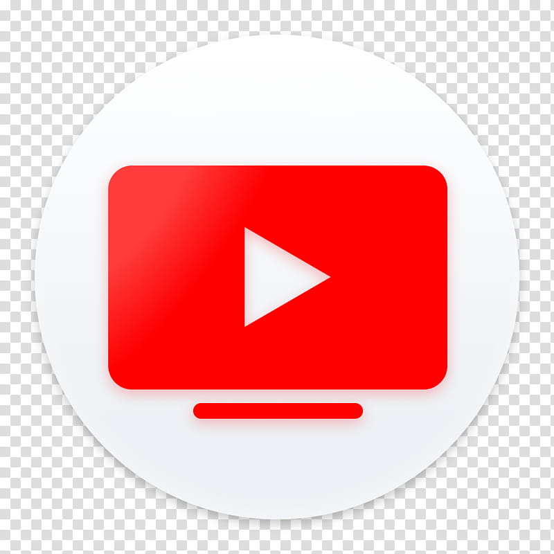 Clay OS A macOS Icon, Youtube TV, video file icon.