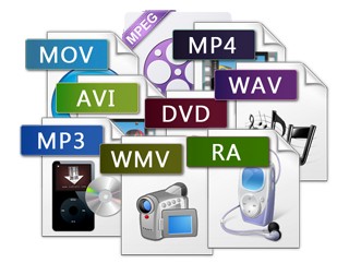 Video/Audio File Formats Glossary.