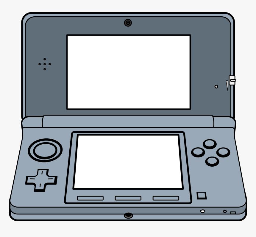 Handheld 3d Game System Clip Arts.
