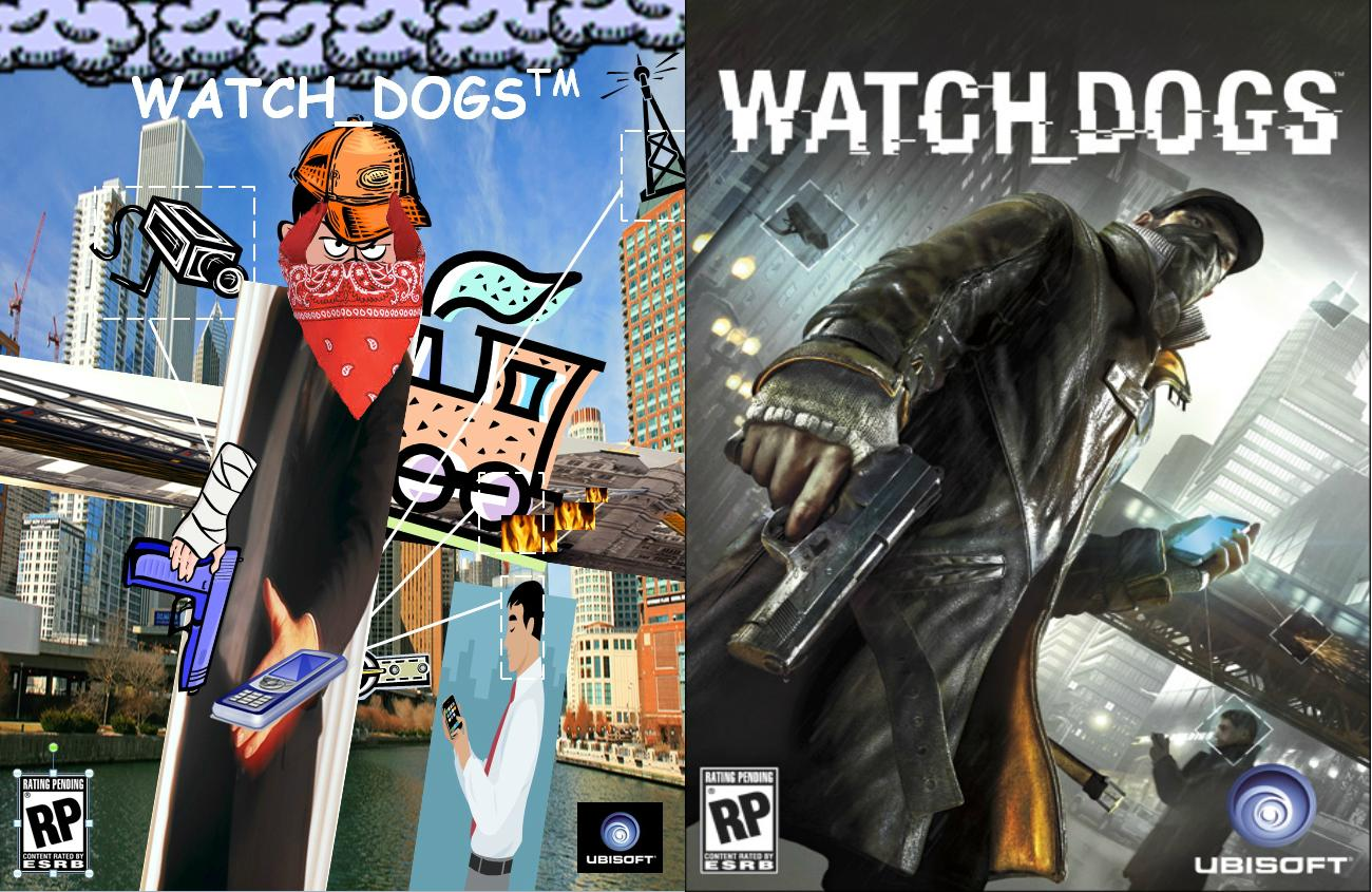 Famous Video Game Box Arts Redone with ONLY clip art an.