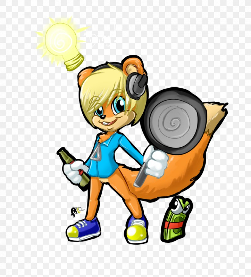 Conker\'s Bad Fur Day Video Game Character Clip Art, PNG.