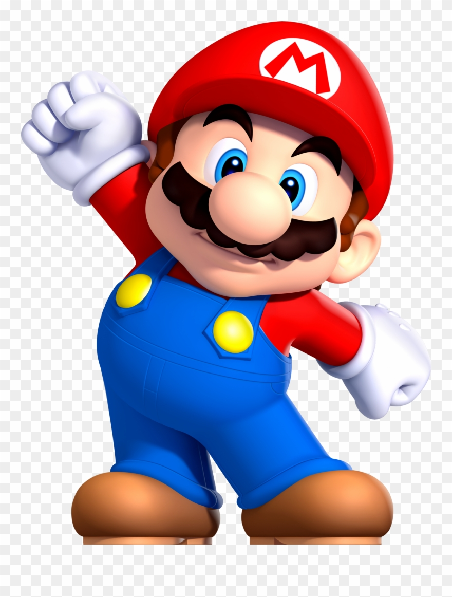 Video Game Clipart Mario Character.