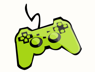Clip art video games.