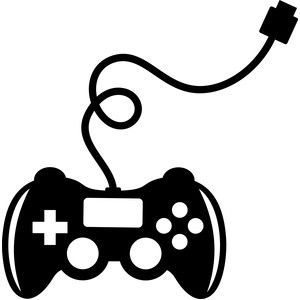 Video game controller clipart black and white 3 » Clipart Portal.
