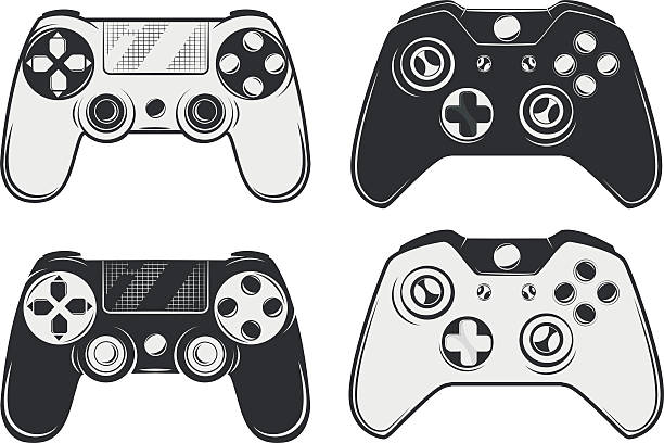 Video game clipart black and white 4 » Clipart Station.