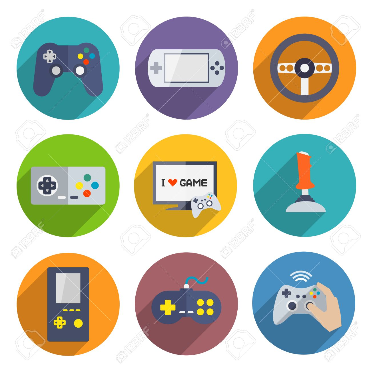 10,320 Video Game Controller Stock Illustrations, Cliparts And.