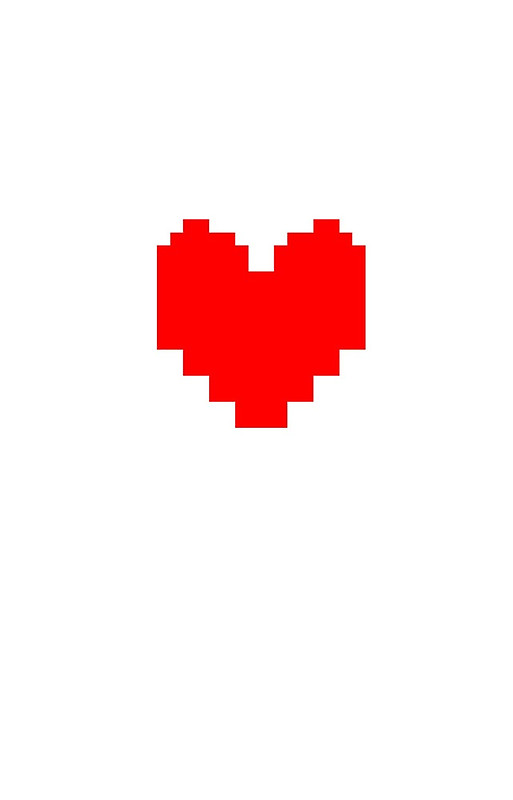 Undertale Heart Clipart.