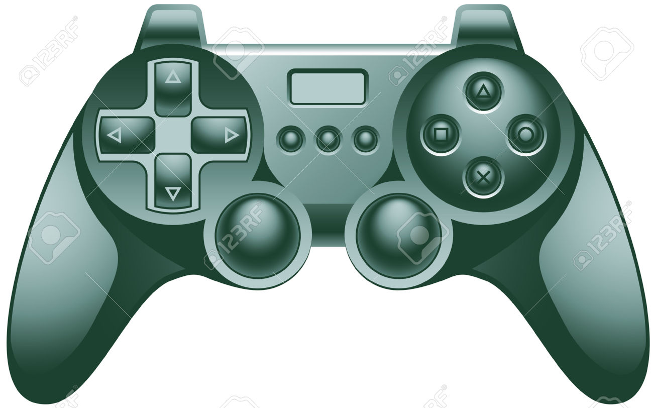 Video Game Controller Pad Royalty Free Cliparts, Vectors, And.