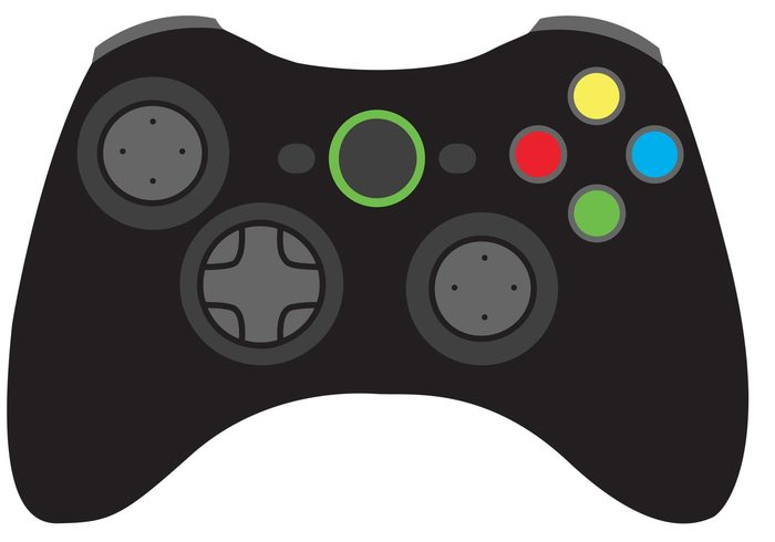 Game Controller Vector.