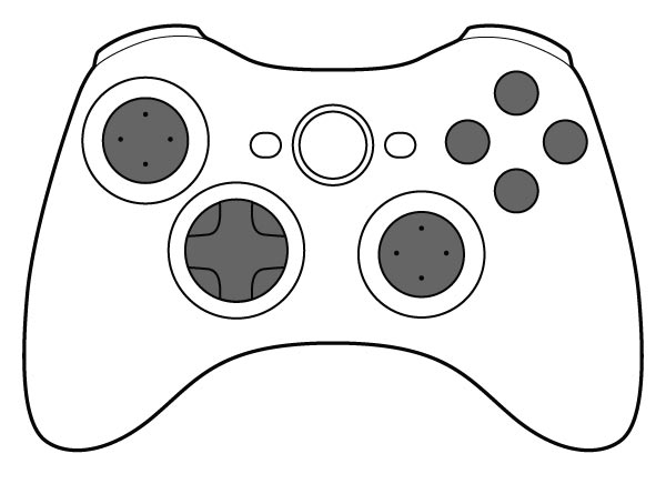 Free Video Game Clipart Black And White, Download Free Clip.